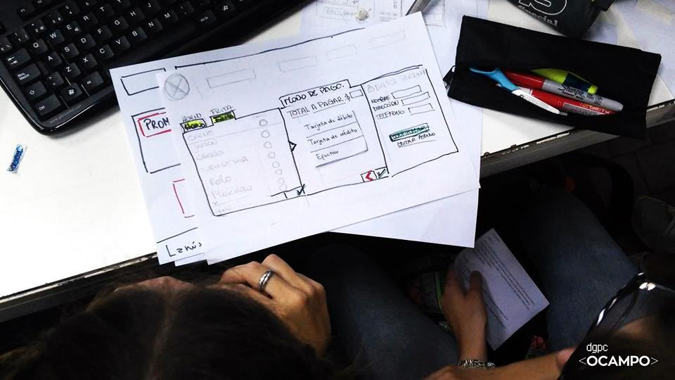 Prototipos de bajo nivel y mapas de navegación